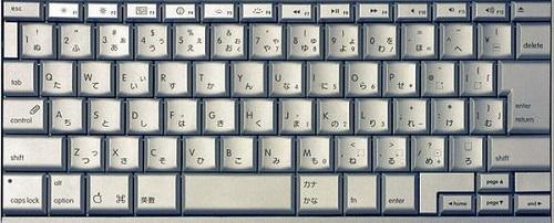 کوتاهترین دکمه فاصله، در صفحه کلیدهای ژاپن قرار گرفته است