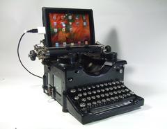 اتصال ماشین تایپ به کامپیوتر