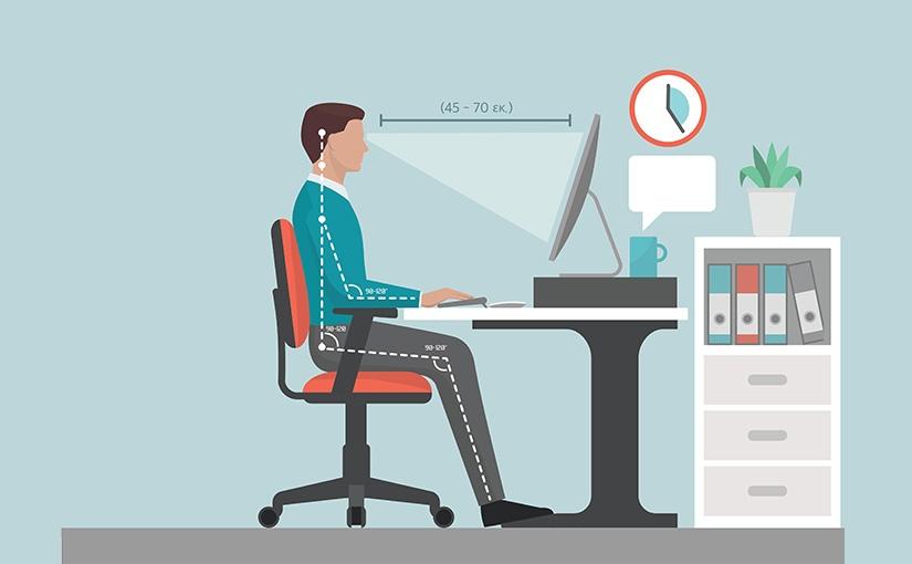 ارگونومی کار با کامپیوتر؛ بهداشت کار با کامپیوتر